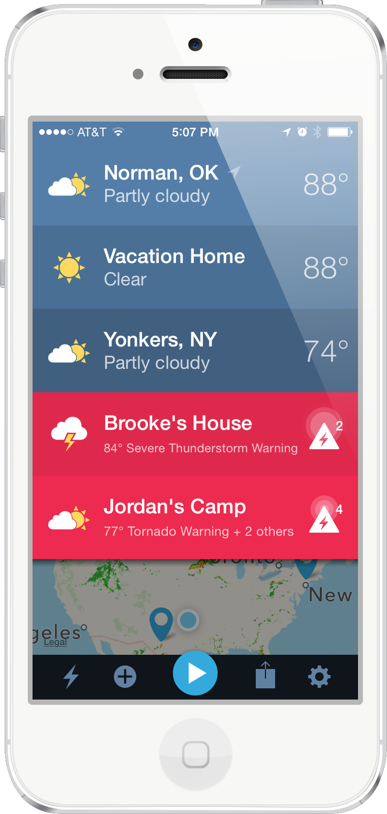 Weather Radio App